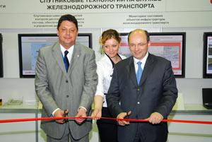 А. Мишари и М.Акулов открывают выставку