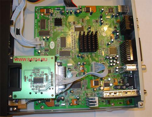Цифровой ресивер GI-S890 CRCI HD Exellence. Плата процессора.