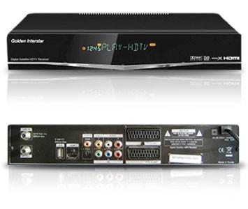 Interstar GI-S900CI HD Цифровой спутниковый HDTV ресивер Golden Interstar
