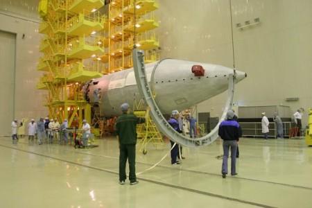 Американский спутник Сириус ФМ -5 установили на ракету «Протон-М»
