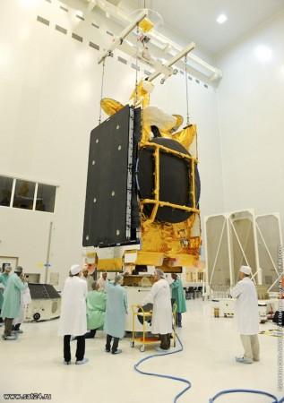 Продолжается подготовка к запуску спутника Astra 3B