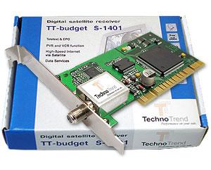 DVB-S плата для ПК TT-budget S1401