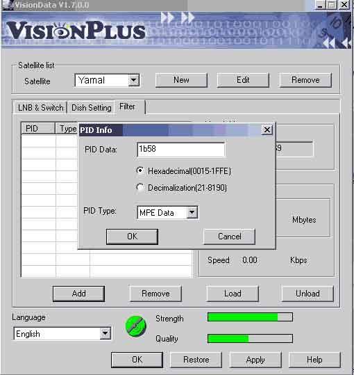 PCI DVB Карта Vision Plus. Установка и настройка (Фильтрация по МАС адресу)