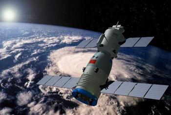 Ракета-носитель Чанчжэн-2Ф доставлена на космодром для запуска третьего в Китае пилотируемого корабля
