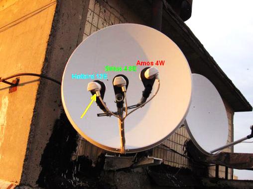 Установка спутниковых антенн своими руками украина фото