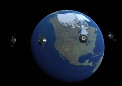 Спутники на геостационарной орбите